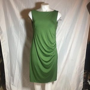 ZRIEY Green sleeveless dress